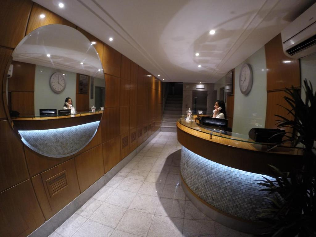 The lobby or reception area at Hotel Primor (Adult Only)