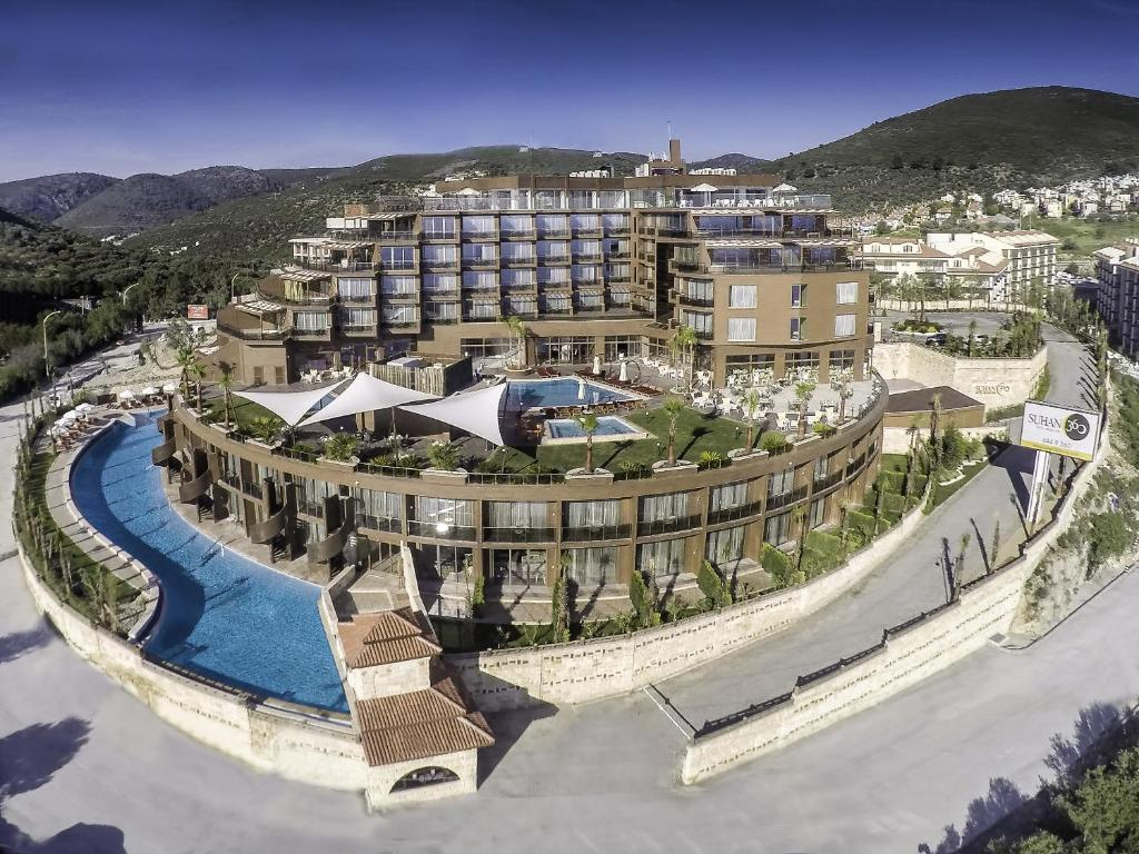 A bird's-eye view of Suhan360 Hotel & Spa
