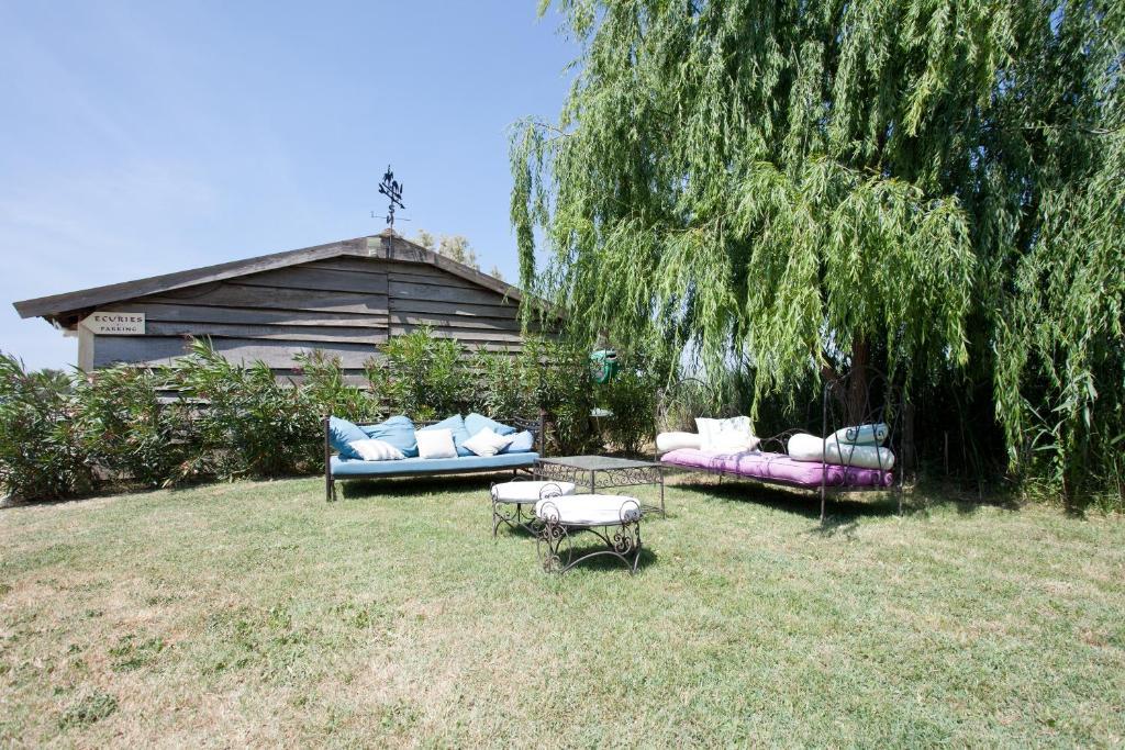 Chambre d'Hôte face à la piscine en Camargue - Mas Lou Caloun - Les Saintes Maries de la Mer