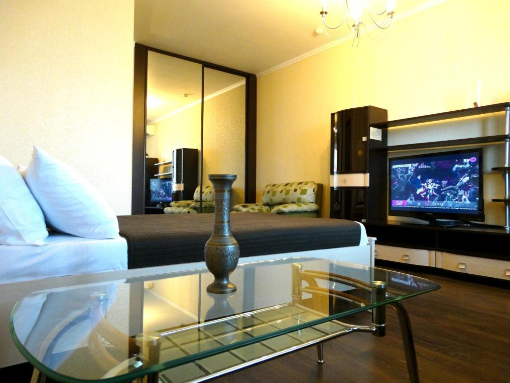 Гостиная зона в InnDays Apartments on Kirova