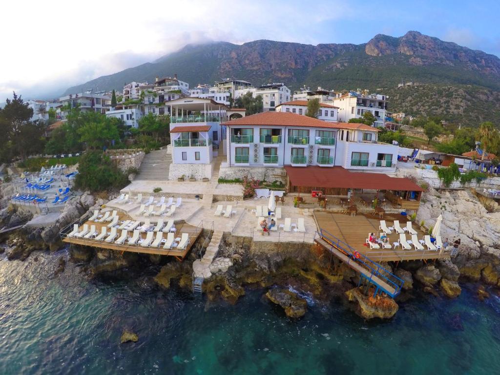 Kaş Hotel с высоты птичьего полета