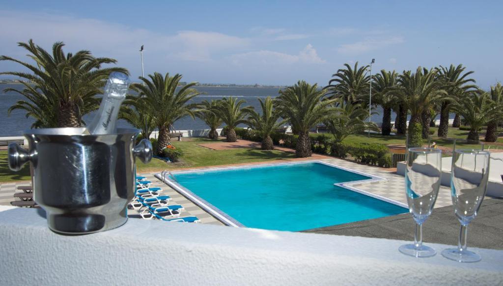 A piscina em ou perto de Hotel Estalagem Riabela