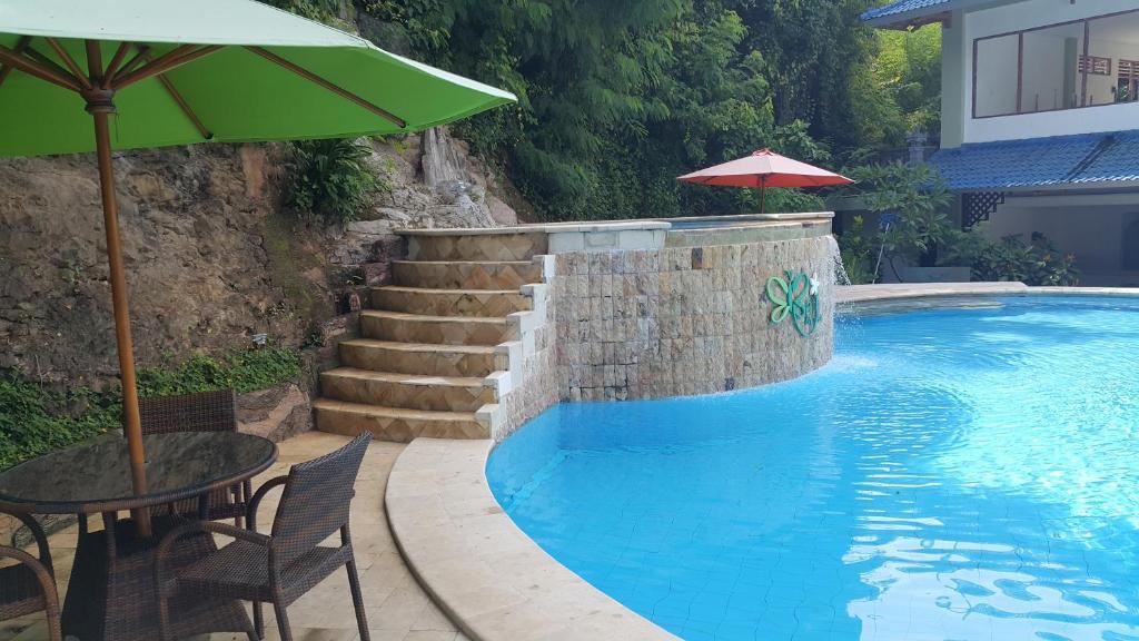 The swimming pool at or near Beji Bay Resort