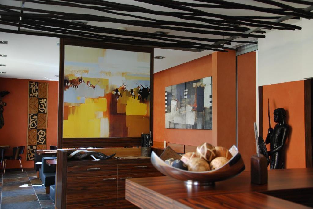 Restaurace v ubytování Afrika Hotel Frýdek-Místek
