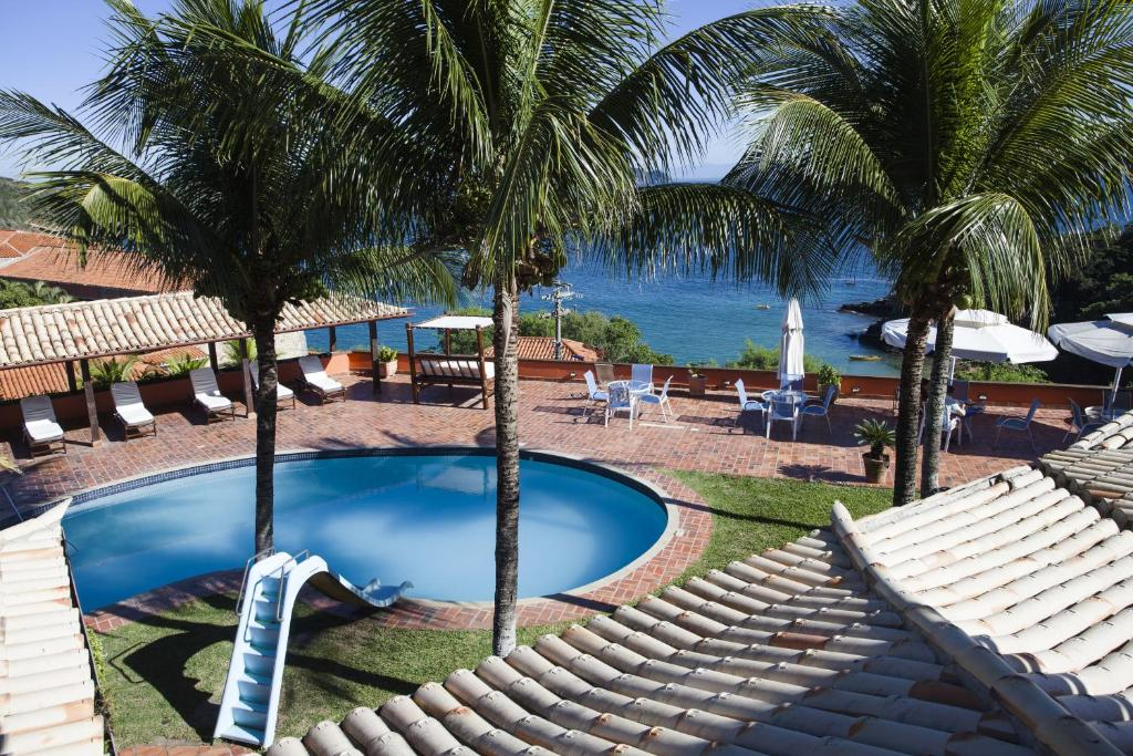 A view of the pool at Colonna Galapagos Boutique Hotel or nearby