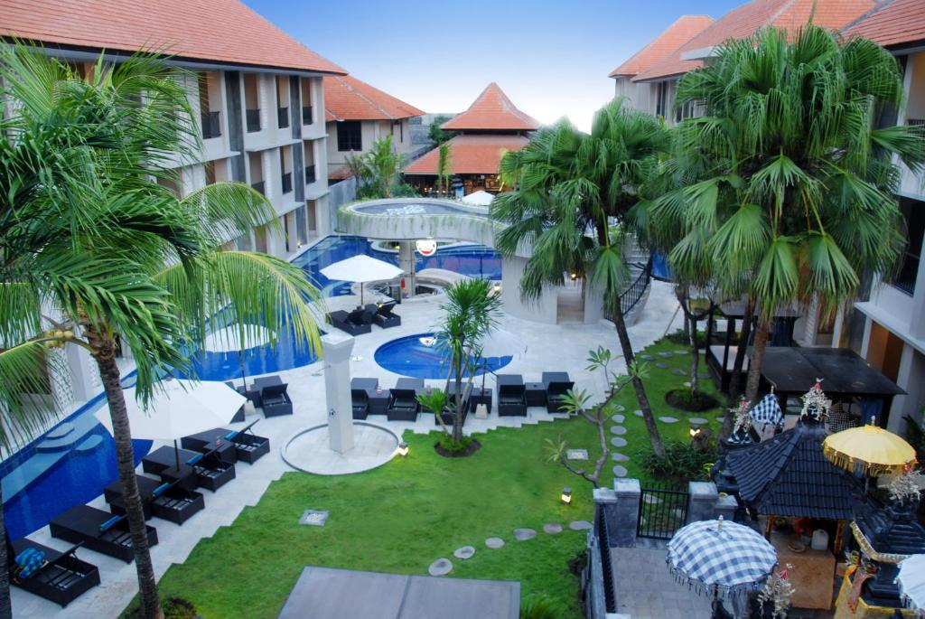 A view of the pool at Grand Barong Resort or nearby