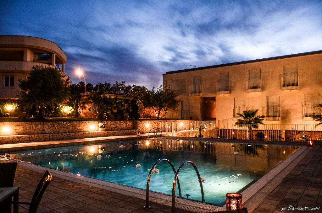 The swimming pool at or near Hotel Ristorante Colle Del Sole