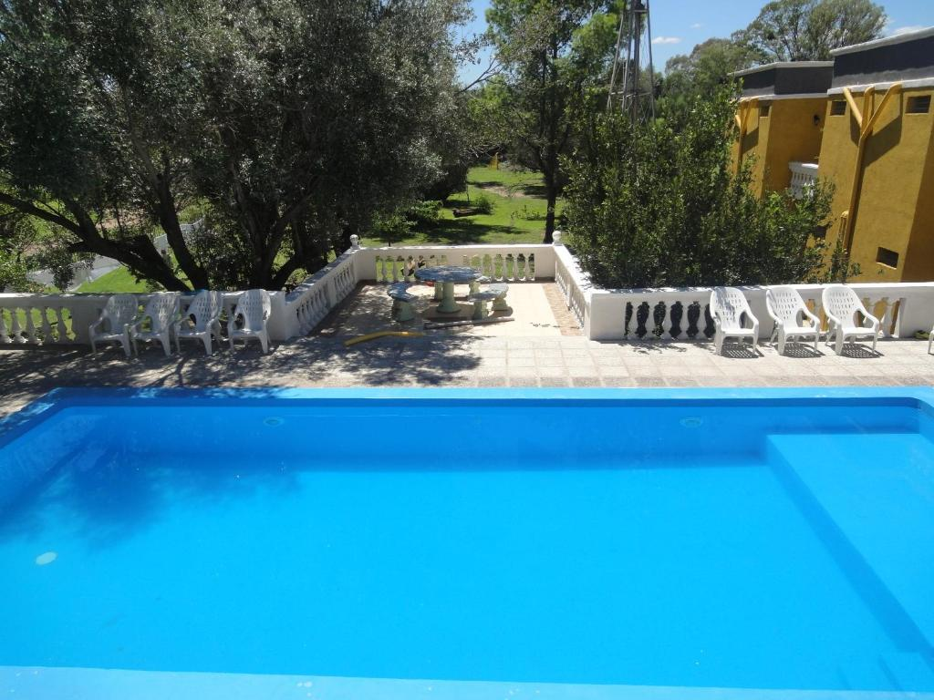 The swimming pool at or near Hotel San Marcos Sierras