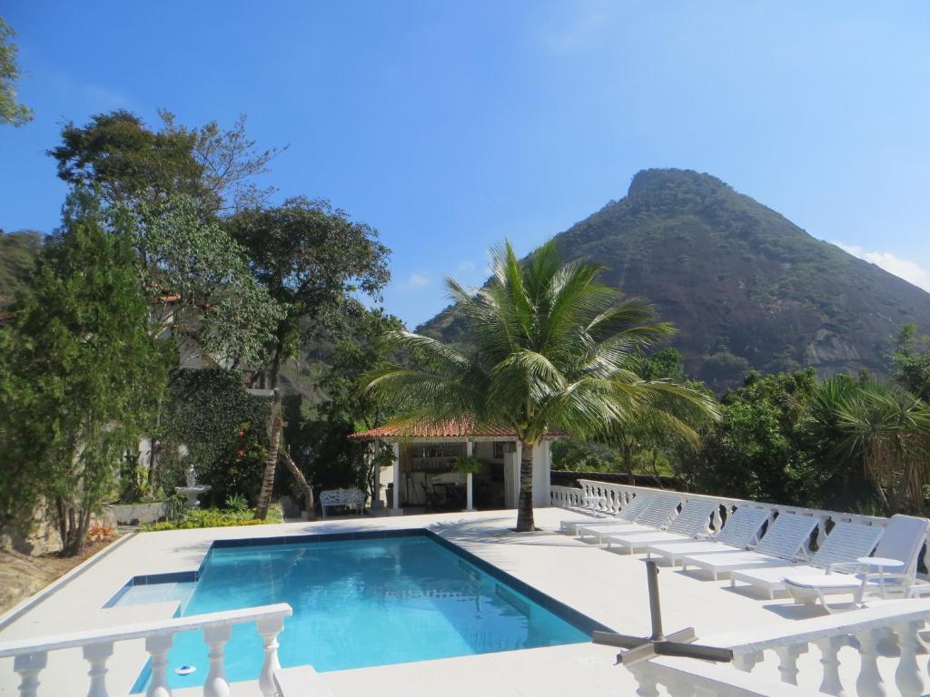 A piscina localizada em Nature Paradise Boutique Hotel ou nos arredores