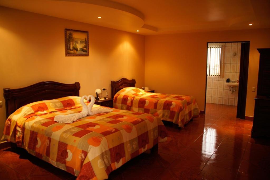 A room at Hotel Las Brumas