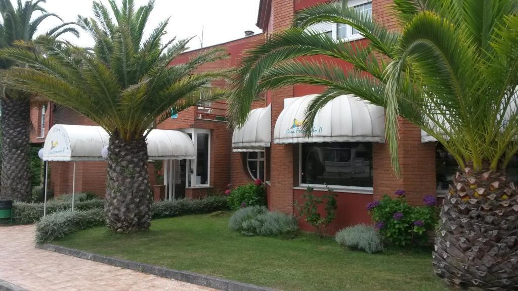 Jardín al aire libre en Hotel Casa Fernando II