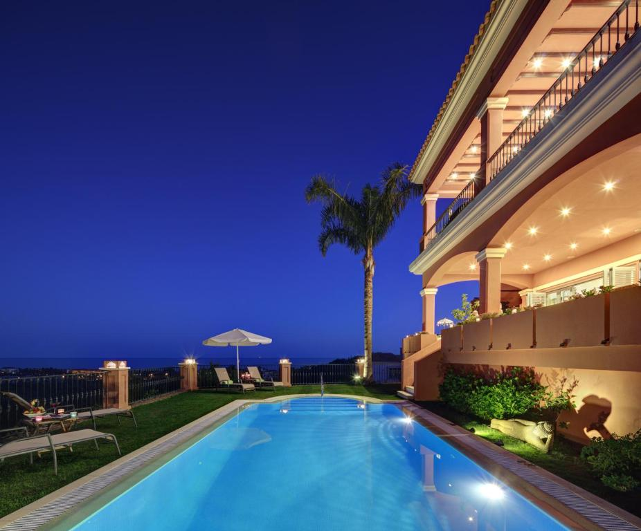 The swimming pool at or near The Marbella Heights Boutique Hotel