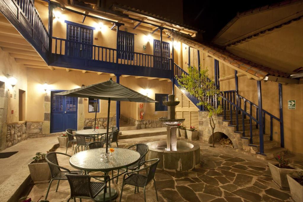 Un restaurante o sitio para comer en Tierra Viva Cusco Saphi