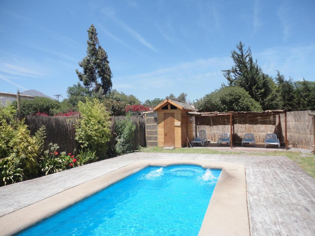 The swimming pool at or near Hotel Arenas de Atacama