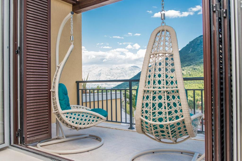 Balkon ili terasa u objektu Lavender Bay Apartment