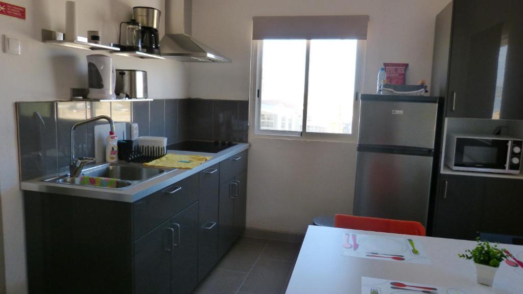 A cozinha ou kitchenette de Fragateira