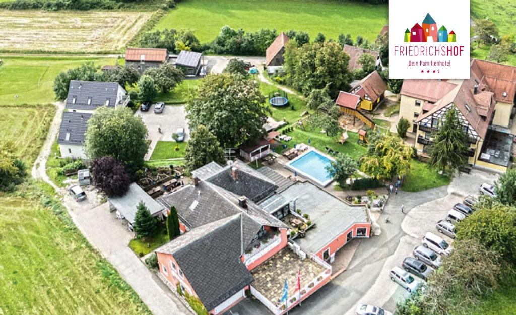 A bird's-eye view of Familienhotel Friedrichshof