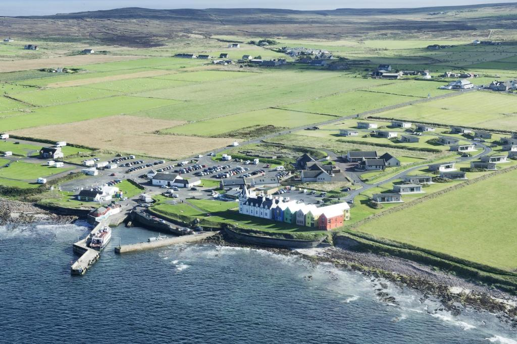 A bird's-eye view of John O'Groats