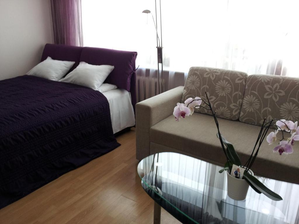 Oleskelutila majoituspaikassa Astra City Centre Apartment