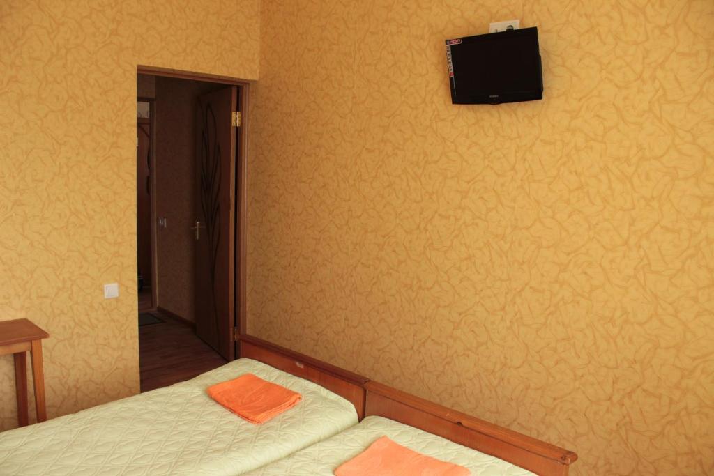Телевизор и/или развлекательный центр в Гостевой Дом Ася