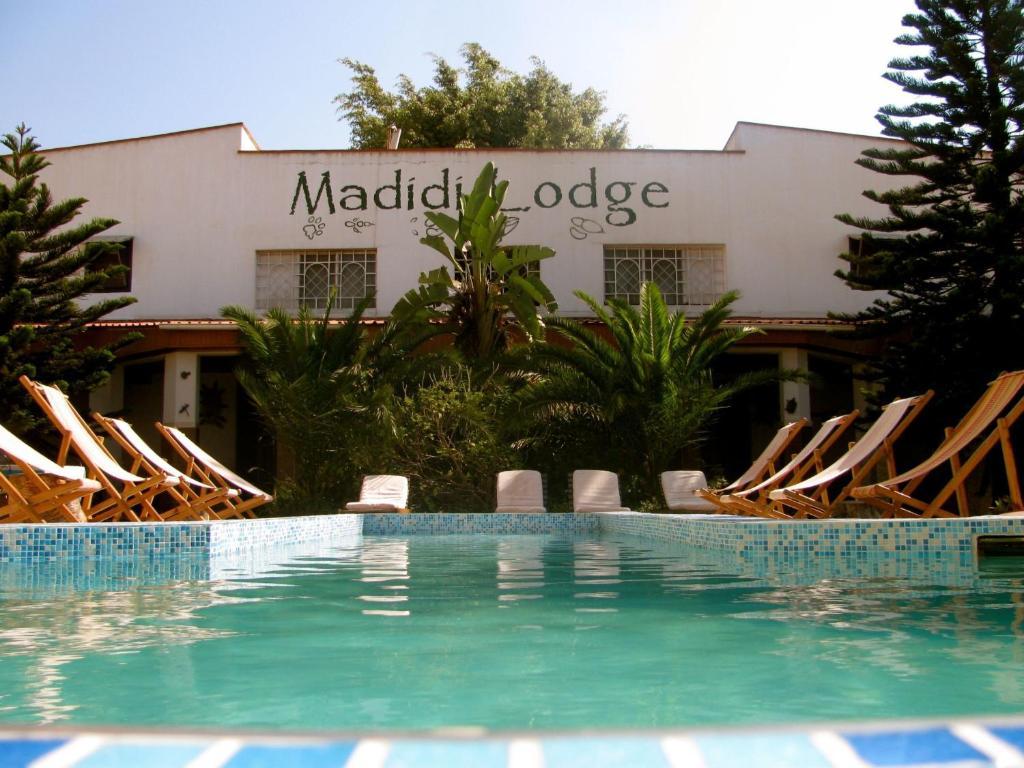 The swimming pool at or near Madidi Lodge
