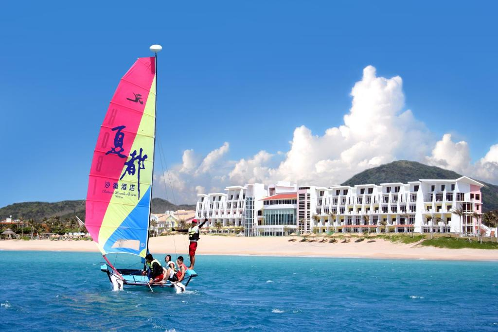 Windsurfing at the resort or nearby
