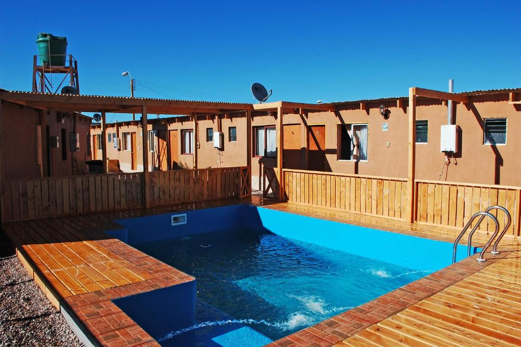 The swimming pool at or near Hostal Pablito