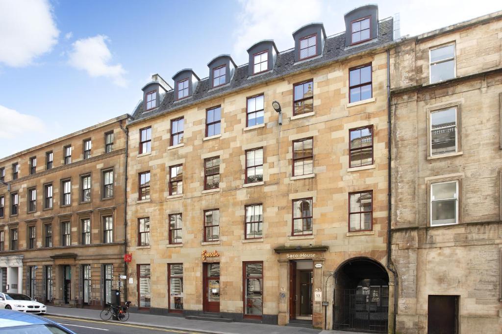 SACO Glasgow - Cochrane Street - Laterooms