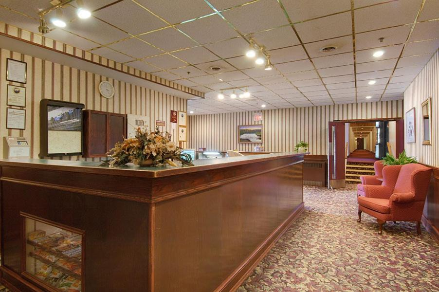 The lobby or reception area at The Burntwood Hotel