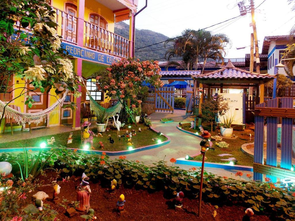 Parque aquático na pousada ou nos arredores