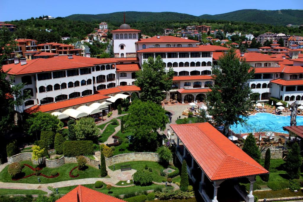 A bird's-eye view of Royal Palace Helena Park - Ultra All Inclusive