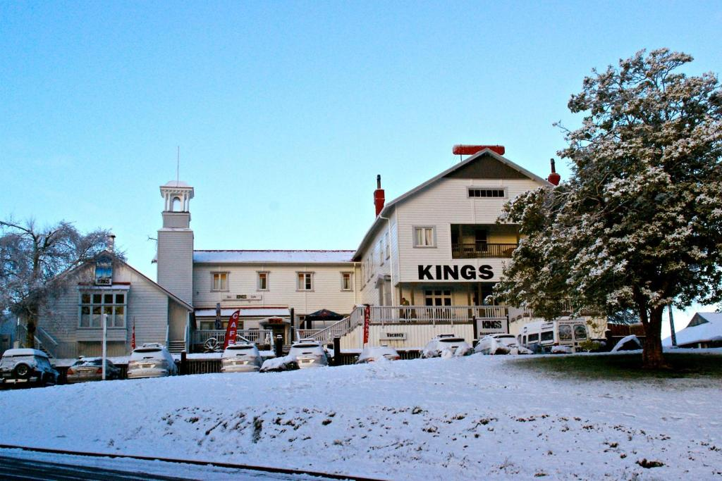 Kings Ohakune during the winter
