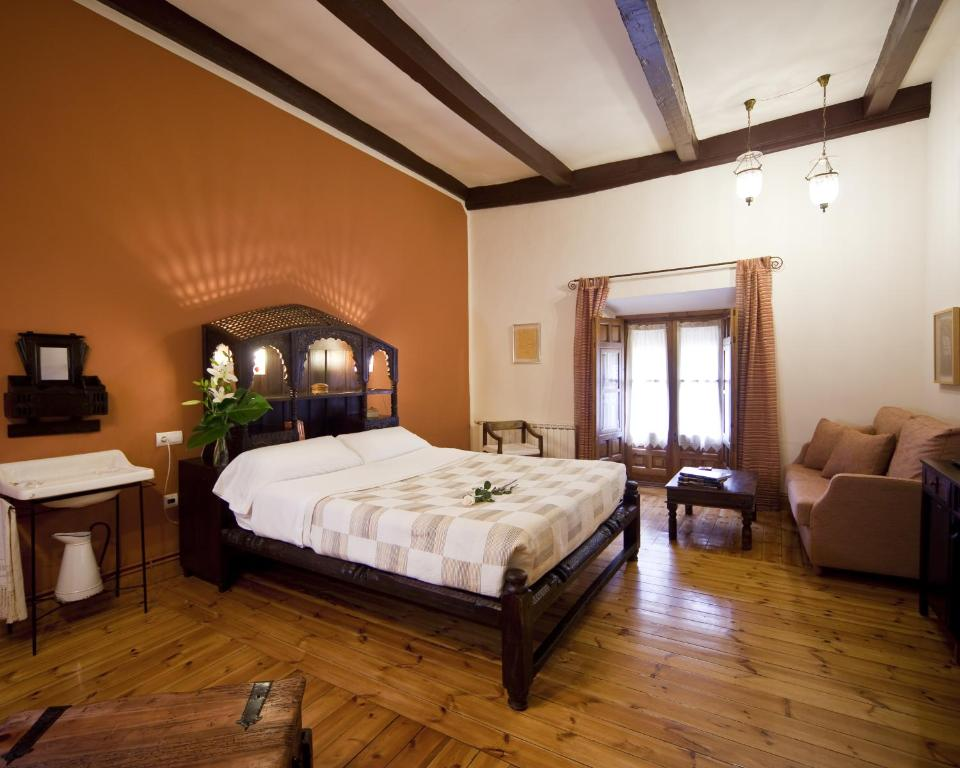 Cama o camas de una habitación en La Morada de Juan de Vargas