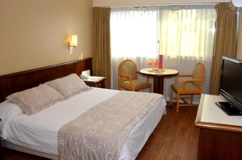 Cama o camas de una habitación en Hotel Lafayette