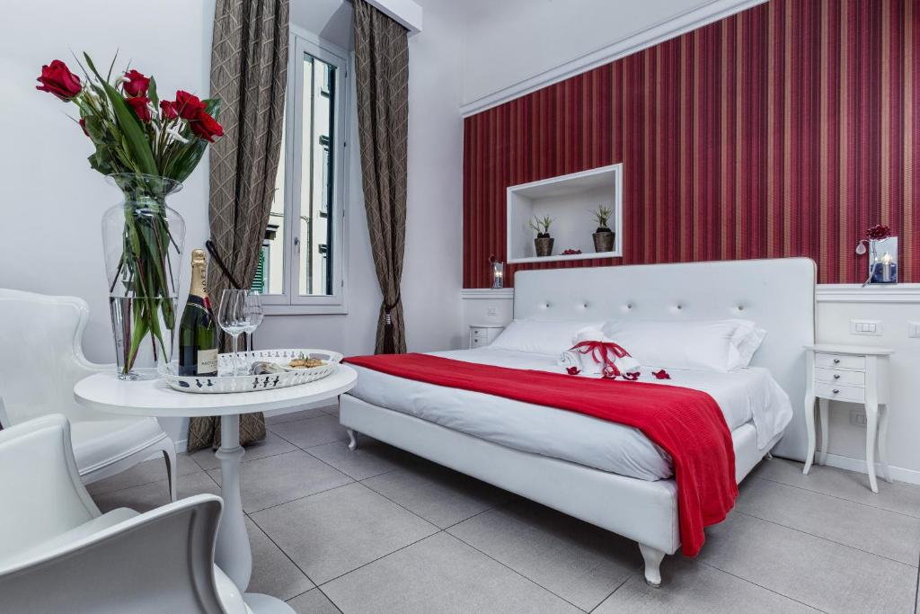 Krevet ili kreveti u jedinici u okviru objekta Hotel La Casa di Morfeo
