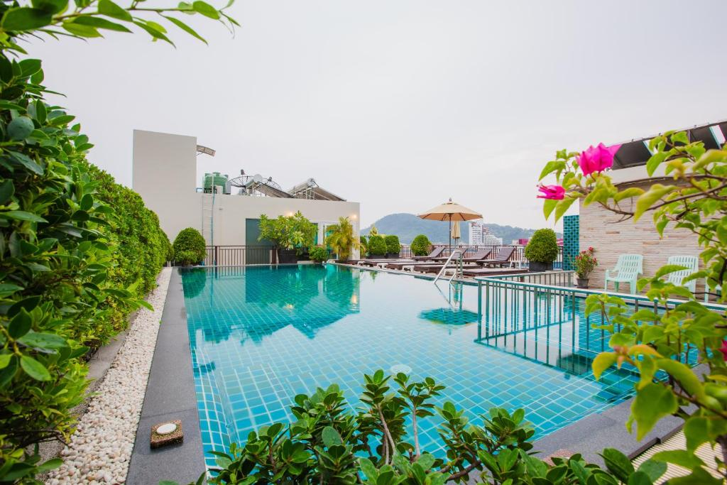 The swimming pool at or near Azure Bangla Phuket