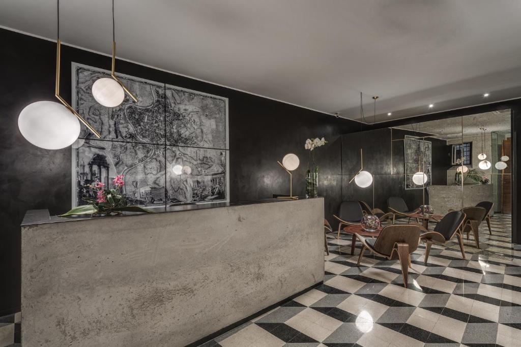 El lobby o recepción de Navona Theatre Hotel