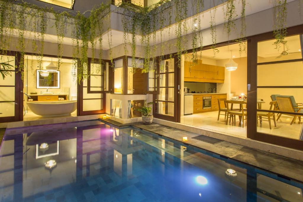 The swimming pool at or near Beautiful Bali Villas by Nagisa Bali