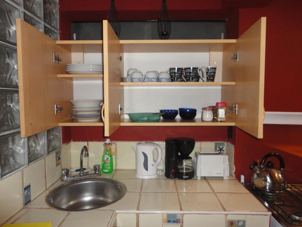 Una cocina o zona de cocina en Cusco's Flat
