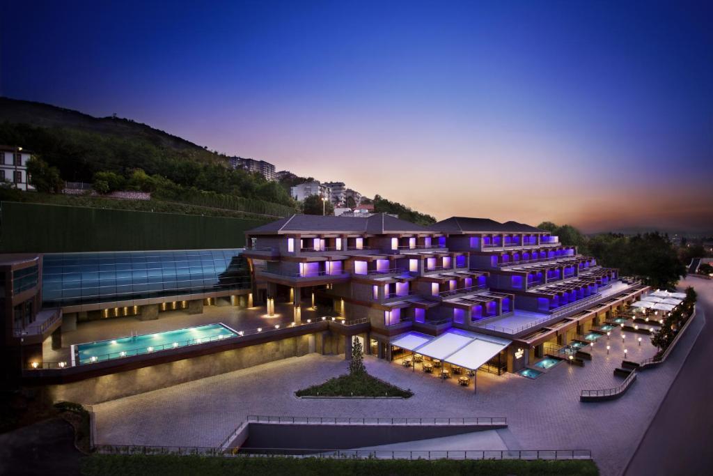 منظر المسبح في ديفان بورصا او بالجوار