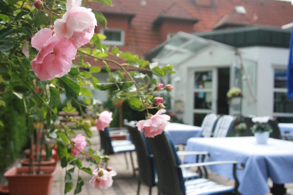 Ein Restaurant oder anderes Speiselokal in der Unterkunft Hotel-Restaurant Fasanerie