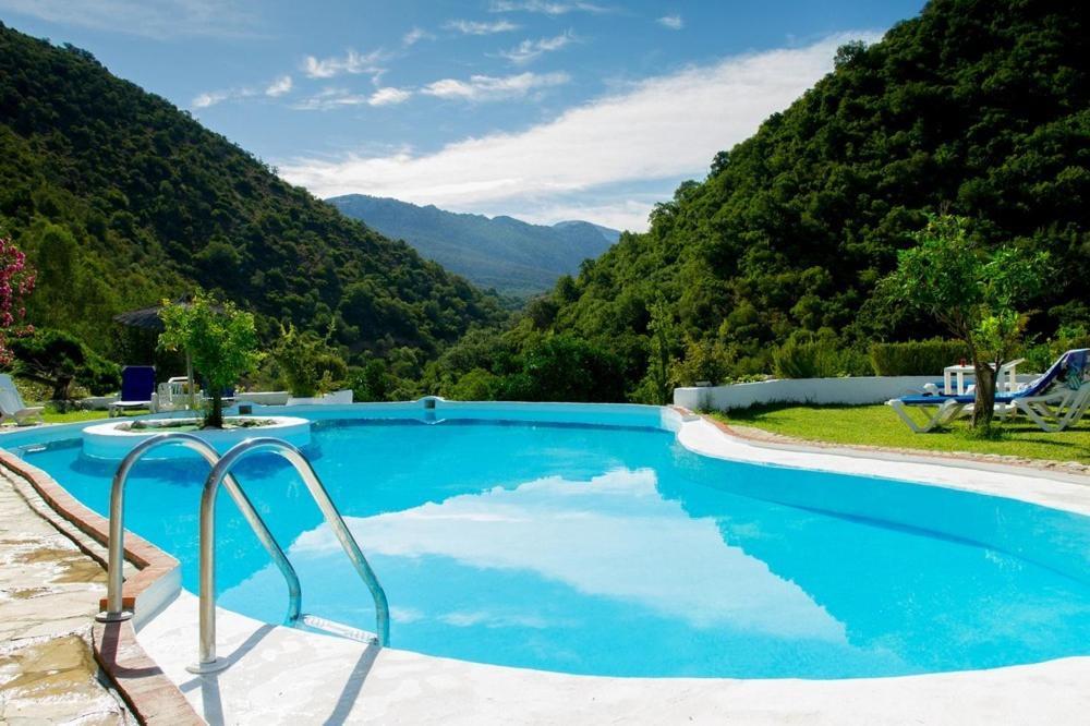The swimming pool at or near Finca El Huertezuelo
