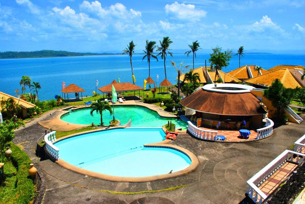 A view of the pool at Leyte Park Resort Hotel or nearby