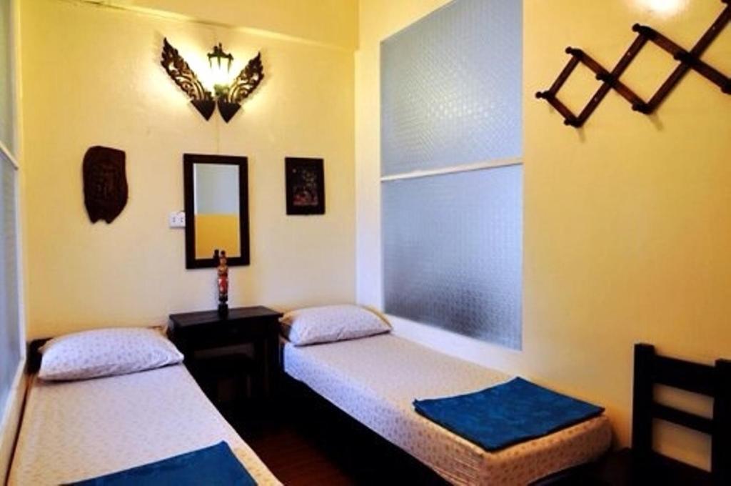 Donmueang Airport Walkable Hostel (DMK) 객실 침대