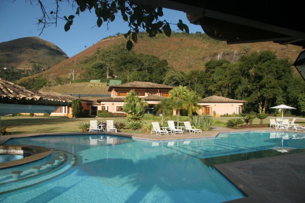 The swimming pool at or near Quinta da Paz Resort