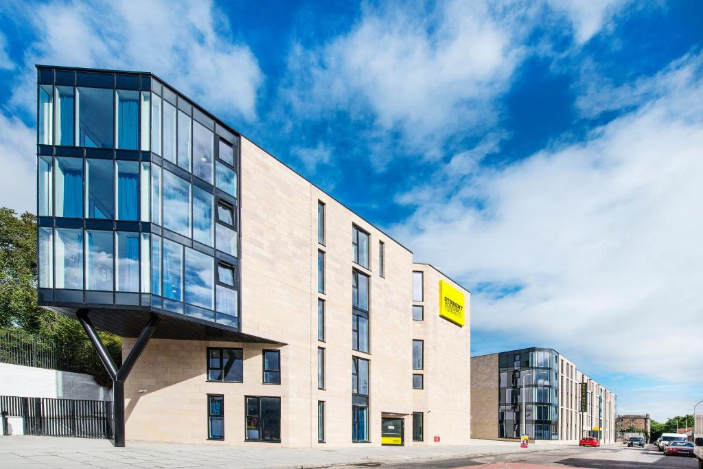 The building in which the student accommodation is located