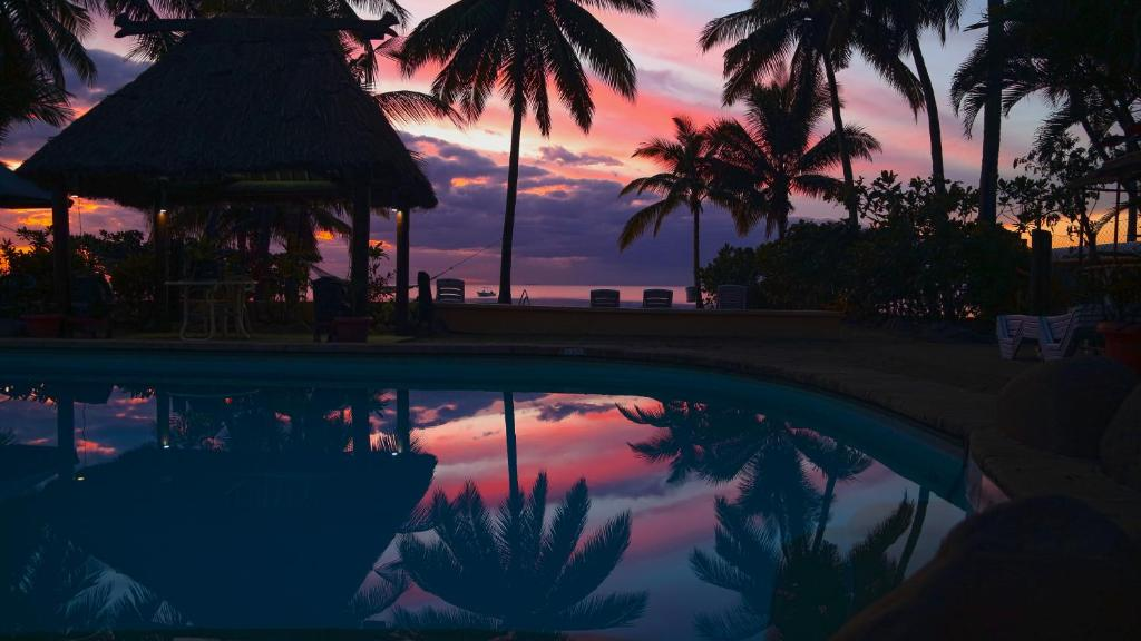The swimming pool at or near Aquarius On The Beach