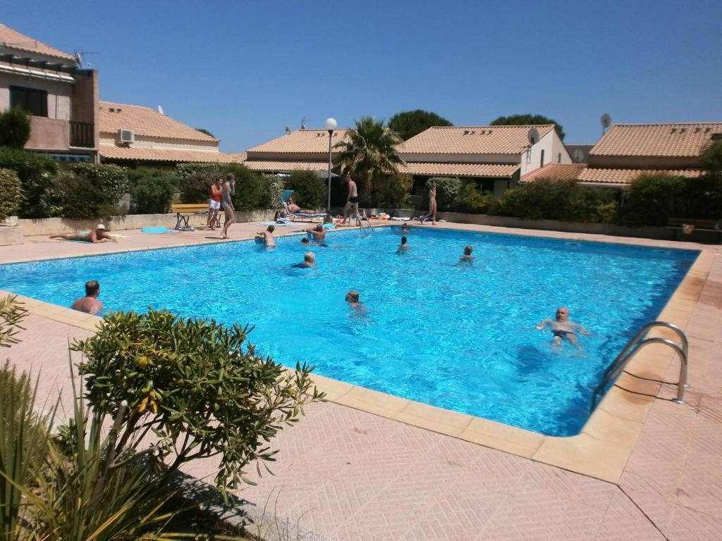 The swimming pool at or near Alizés - Cap Sud III