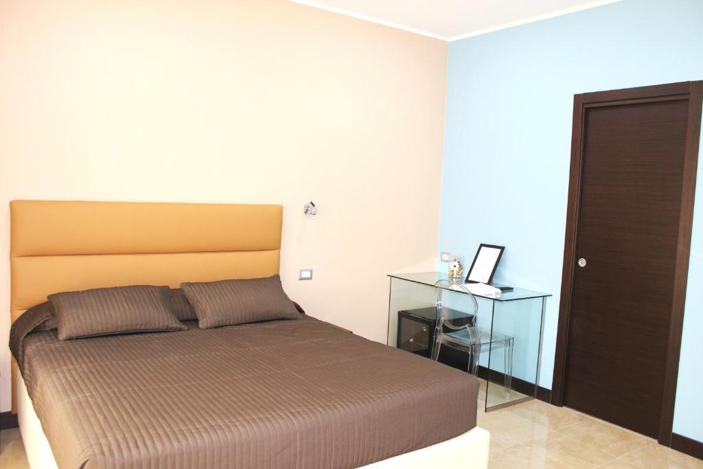 Krevet ili kreveti u jedinici u okviru objekta Hotel Gran Torino