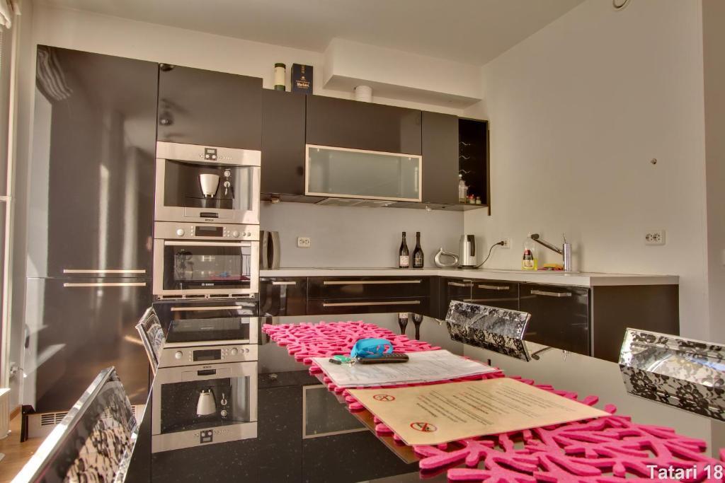 Köök või kööginurk majutusasutuses Daily Apartments - Freedom Square